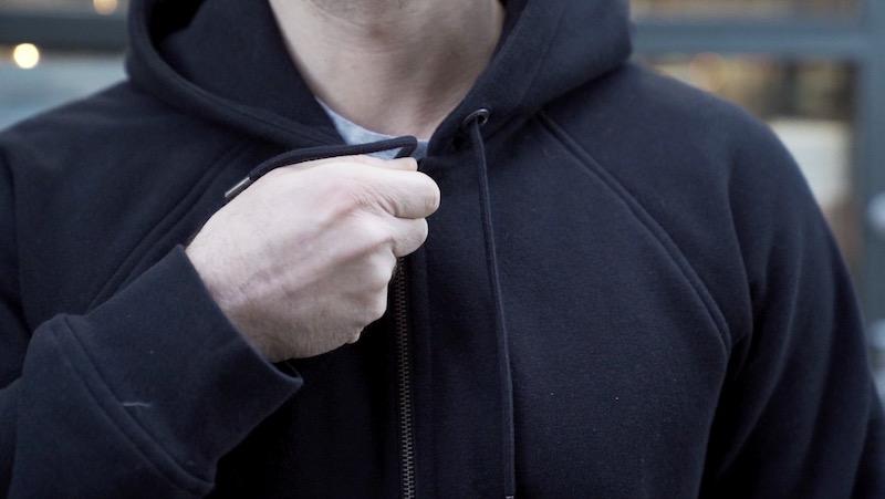 flint tinder 10 year hoodie zip