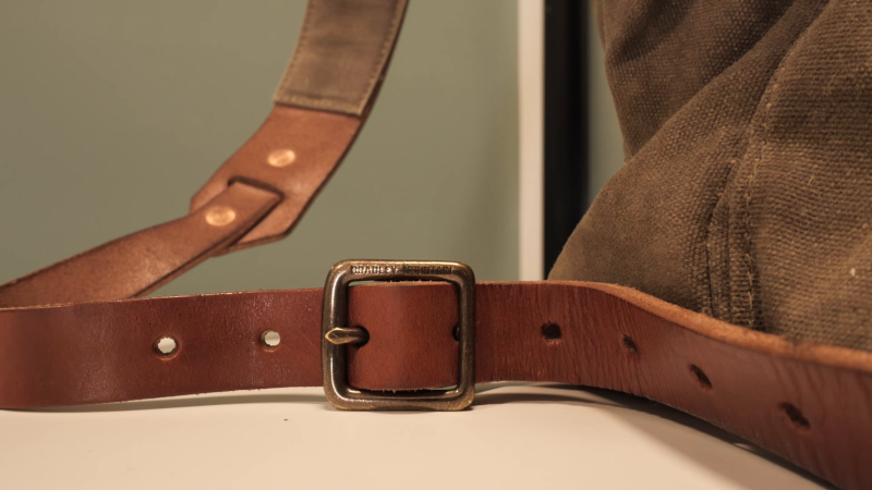 Bradley Mountain Wilder Bridle Leather Strap