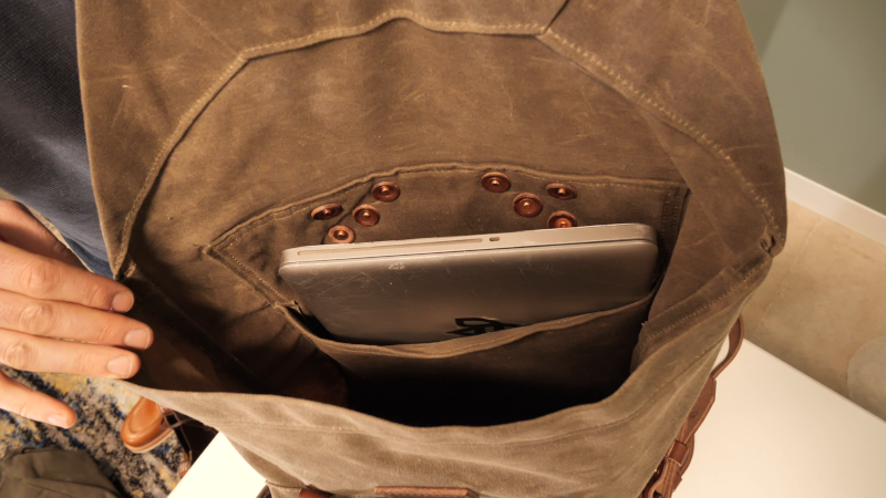 Bradley Mountain Wilder Inside Unpadded Laptop sleeve