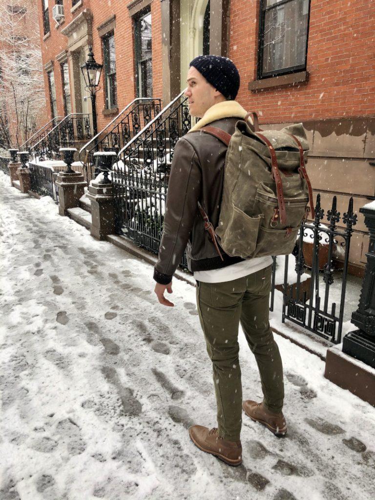 bradley mountain wilder in the snow