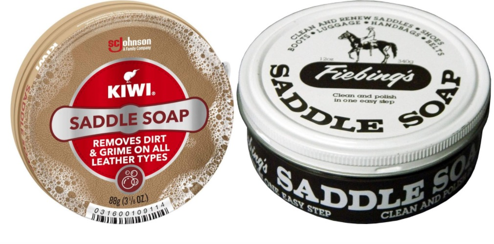kiwi saddle soap vs fiebings saddle soap