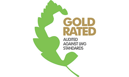 leather working group gold rating