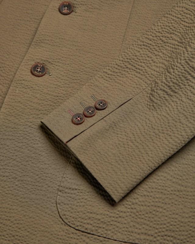 Ted Baker DRACENJ Seersucker blazer fabric