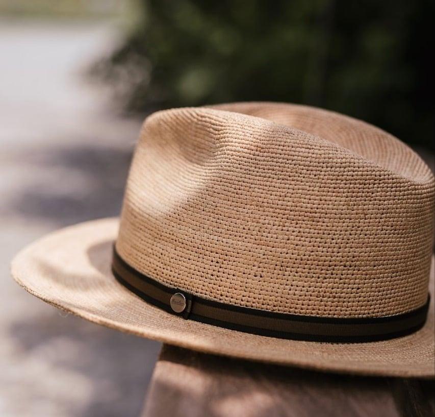 borsalino argentina straw hat