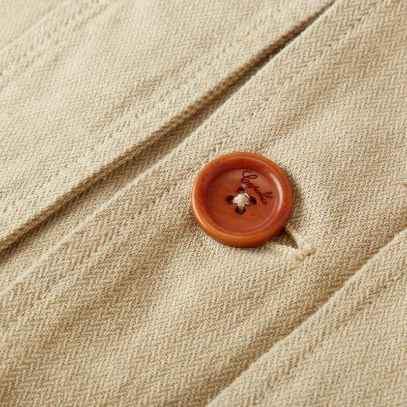 capalbio linen blazer fabric
