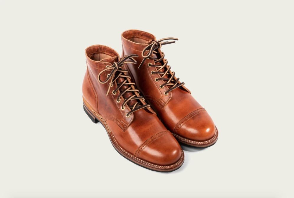 viberg service boot dublin leather