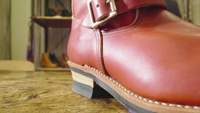 Red 8271 Engineer Boot Heel