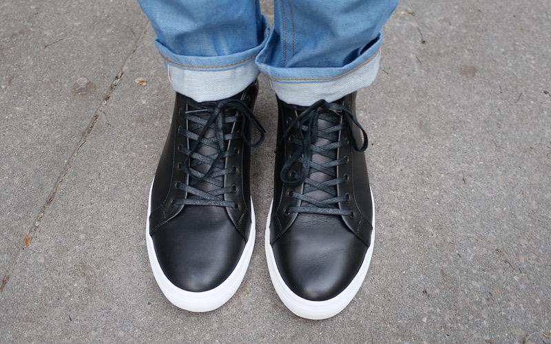 thursday black sneaker