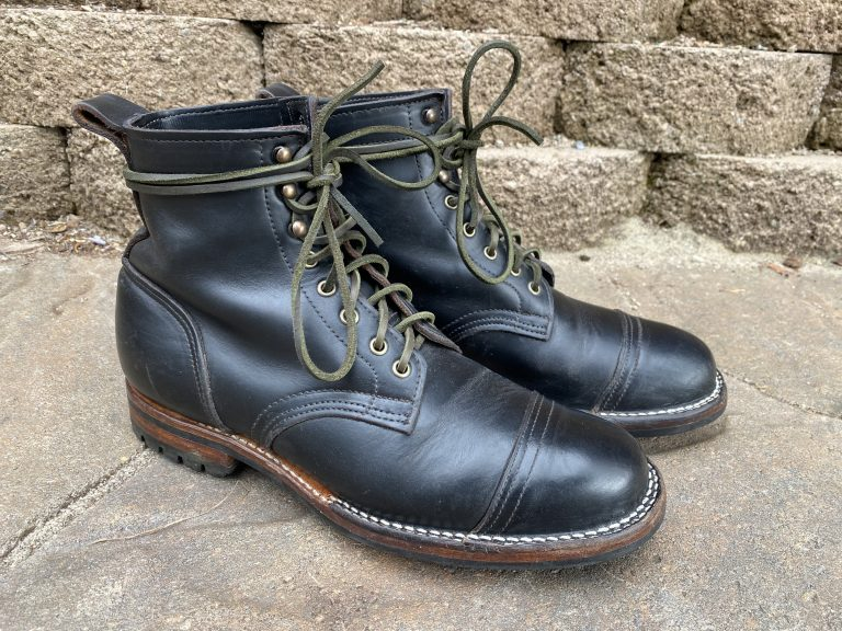 truman boot company black chromexcel boots