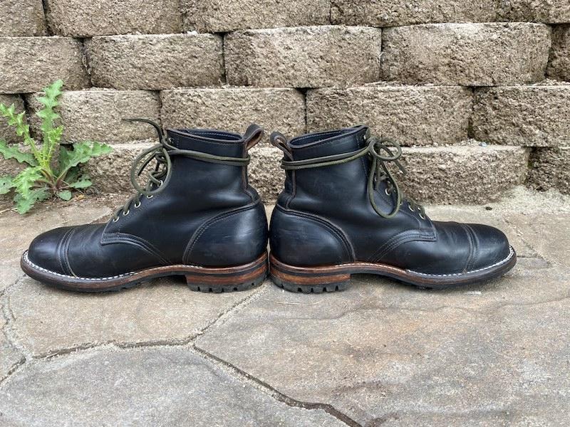 truman boot company black chromexcel profile