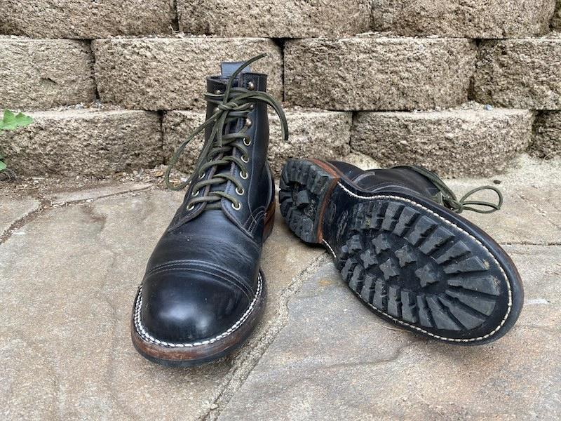 truman boot company black chromexcel