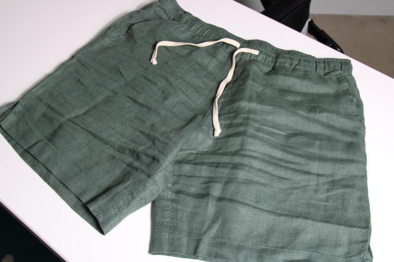 Alex Crane Linen Bo Shorts