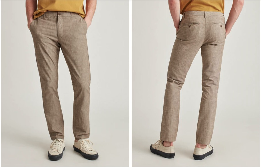 bonobos stretch chambray pants