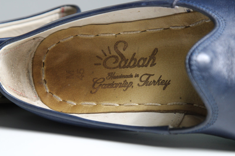 Sabah Shoe inside logo