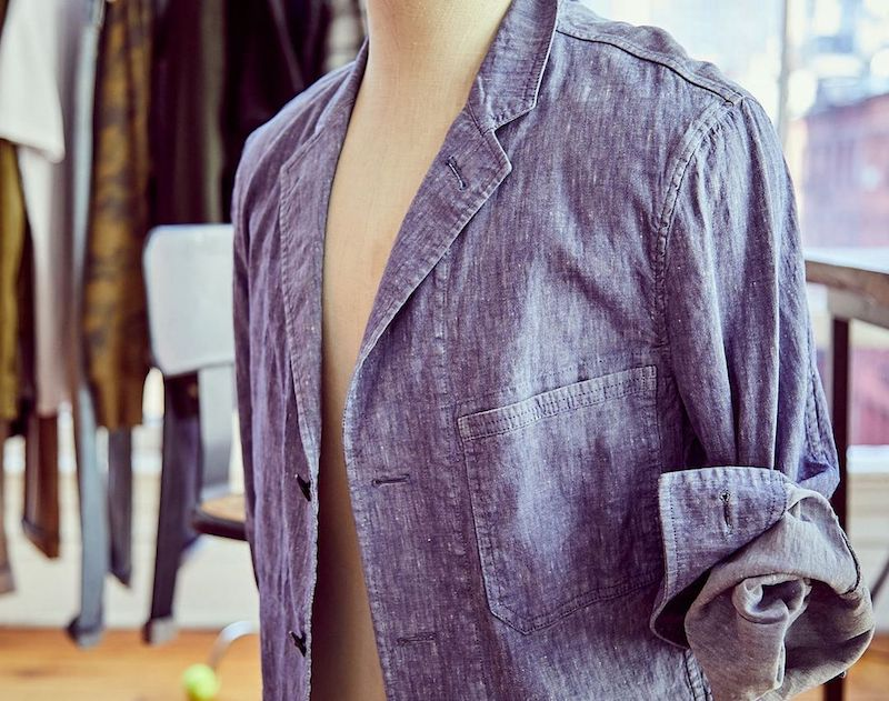 todd snyder chambray jacket