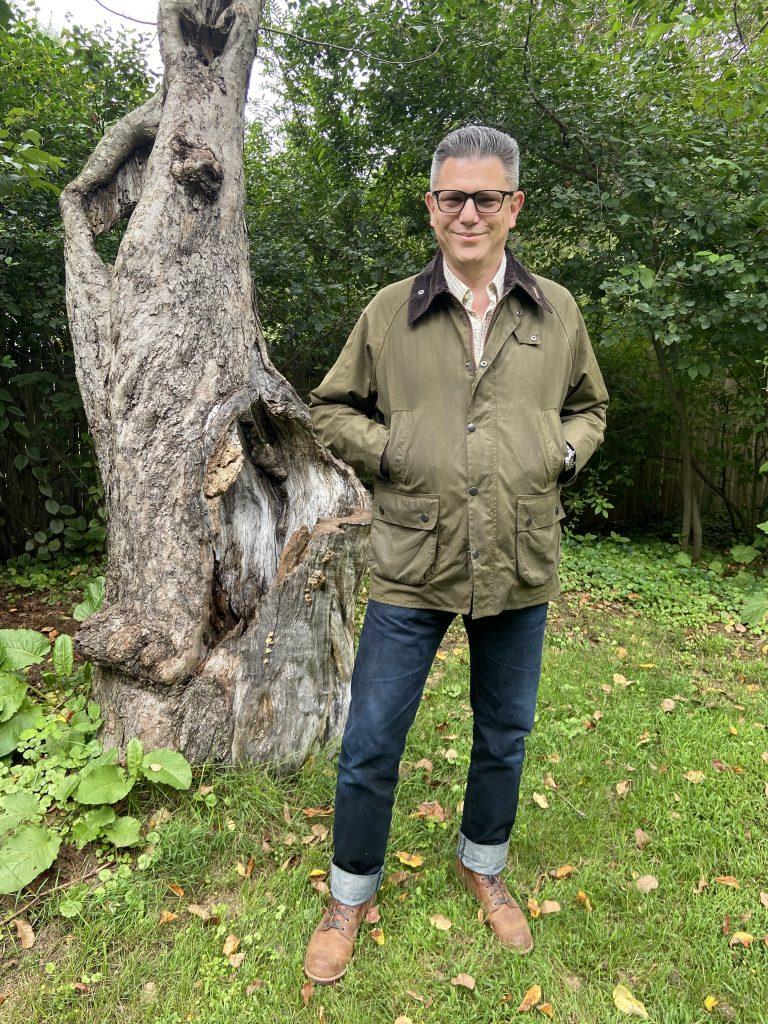 barbour bedale jacket model