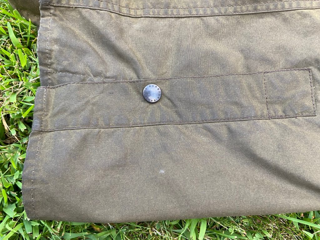 barbour bedale jacket snaps