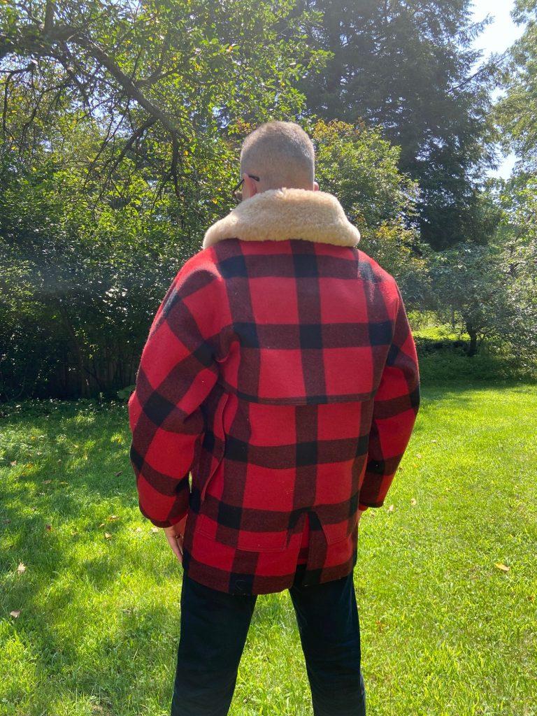 filson lined packer coat pockets