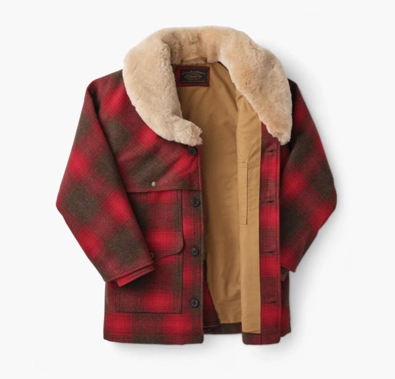filson packer coat cotton lining