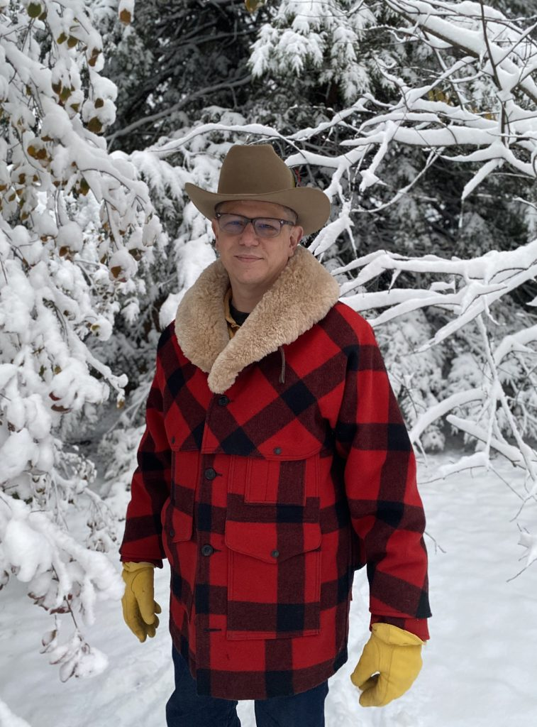 filson packer coat snow