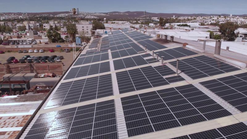 LeFarc Tannery Solar Pannels
