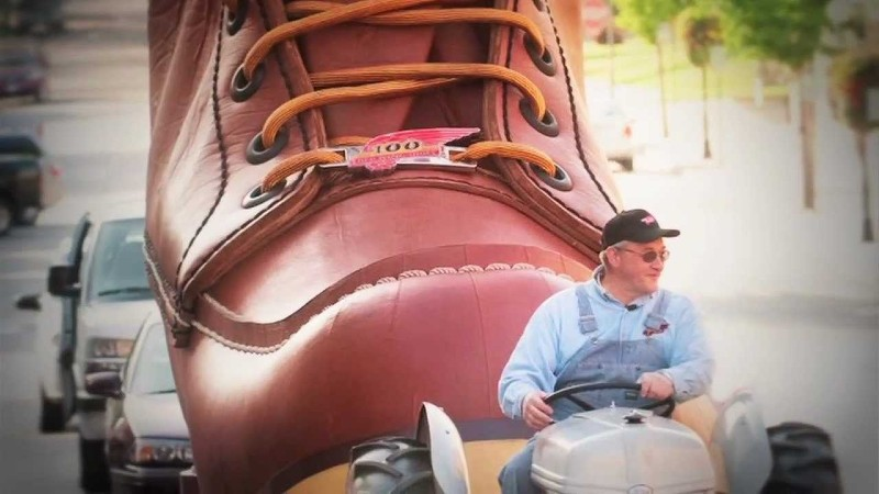 Red Wing World's Largest boot