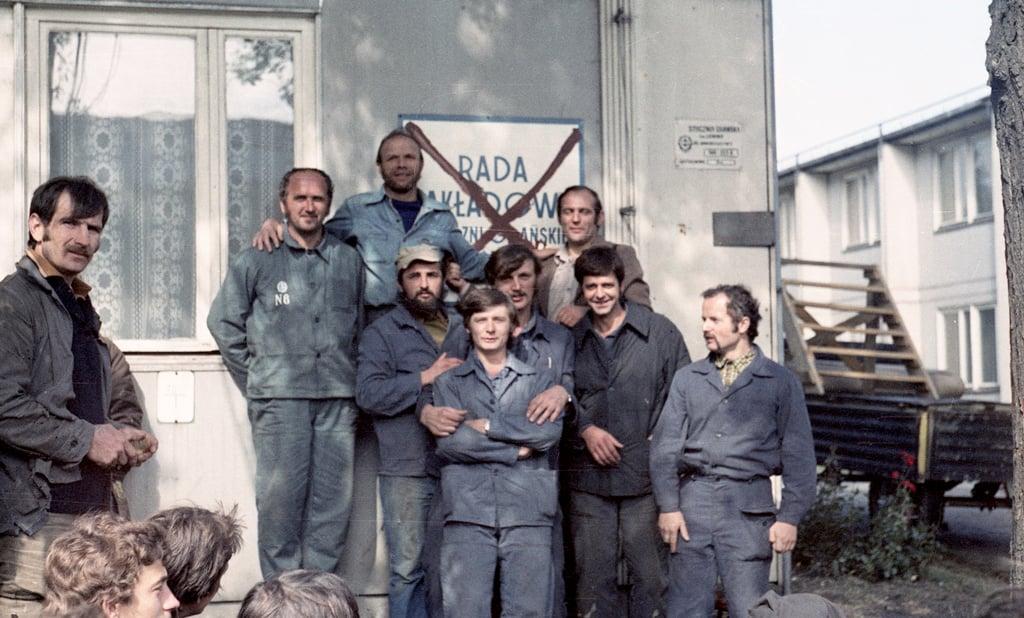 Strike at the Vladimir Lenin Shipyard in August 1980