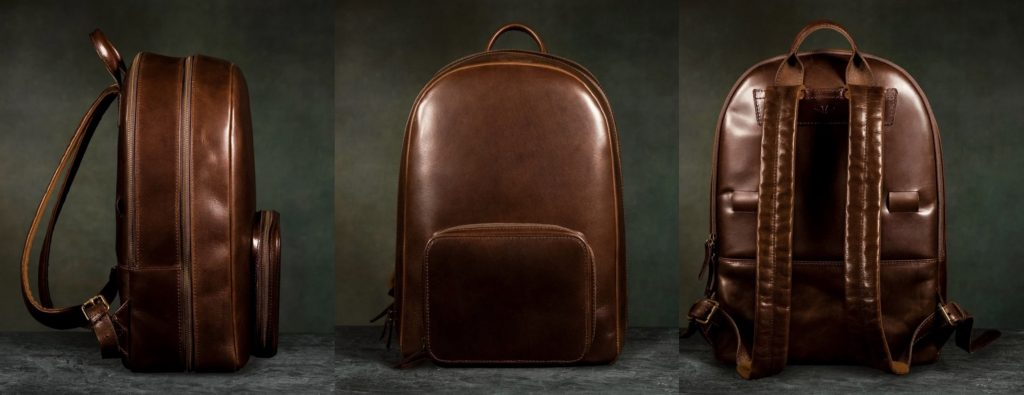 satchel and page leather backpack
