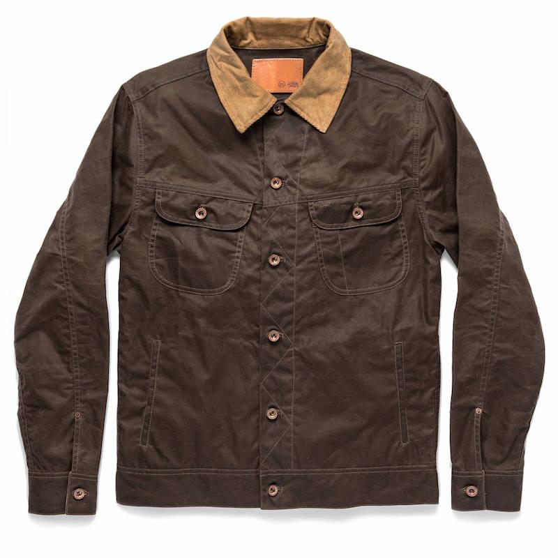 taylor stitch long haul waxed jacket